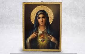 00025 painting sacredheartmary