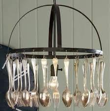 fork chandelier fork chandelier