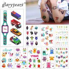 Glaryyears 1 лист временная татуировка наклейка классная поддельная тату пингвин