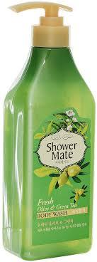 "<b>Shower</b> Mate <b>Гель для душа</b> ""Оливки и зеленый чай"", 550 г ..."