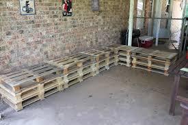 diy outdoor pallet sectional. Outdoor Furniture Made Out Of Pallets Diy Pallet Sectional