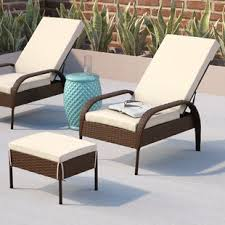 outdoor chair with ottoman. Banker Patio Chair With Cushion Outdoor Ottoman O