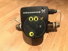Grundfos Magna1 Orange Light Grundfos Magna1 32 80 180 Pump Circulator 97924164 230v