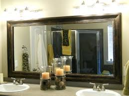 silver framed bathroom mirrors. Unique Mirrors Framed Bathroom Mirrors Endearing Best Ideas On  Framing A In Mirror   With Silver Framed Bathroom Mirrors