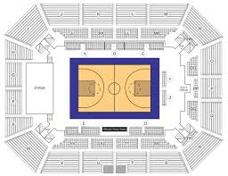 Ford Center Evansville Seating Chart With Seat Numbers Seating Map Owensboro Sportscenter Owensboro Ky