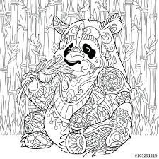 Giant Panda Coloring Sheet How To Draw A Red Panda Coloring Pages