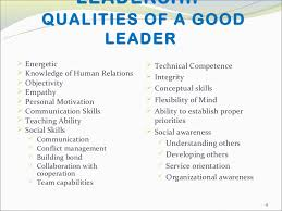 Buy Online Good Leadership Skills