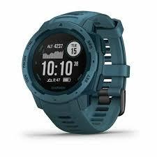 Защищенные GPS-часы <b>Garmin Instinct</b> Lakeside <b>Blue</b> купить по ...