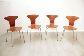 arne jacobsen furniture. Arne Jacobsen Chairs For Fritz Hansen - Set Of Four \ Furniture