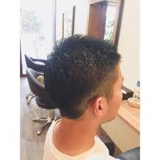メンズおしゃれボウズサイド Luceルーチェのヘアスタイル