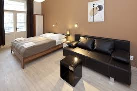 Modern One Bedroom Apartment Design Simple Studio Apartment Design And Layout Idea Showing Spacious