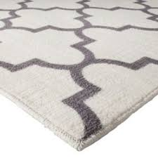 threshold fretwork rug