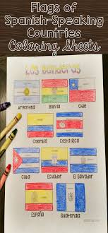 Small Picture Flags of Spanish Speaking Countries Coloring Sheets These coloring