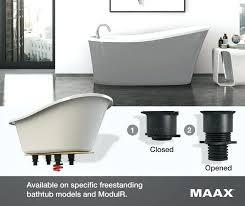 maax com pm maax freestanding tub installation guide