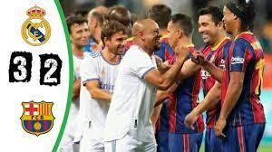 ملخص مباراة اساطير برشلونة و ريال مدريد 3 2 نارر 🔥 - YouTube