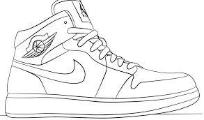 Hrtcxbsqd E Jordan Scarpe Colorare Da Nike Disegni Con Di Disegno