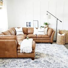 image of best camel leather sofa