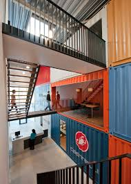 shipping container office building. Shipping Container Interior Office Building C
