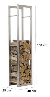 ... Stainless Steel Firewood Rack Cover Ideas: Enchanting Firewood Rack  Design ...