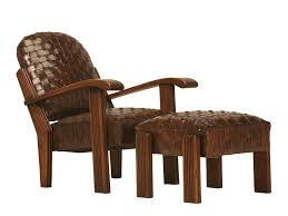 Chic Unique New Hand Woven Leather Club Chair Transitional, Leather,  Armchairs Club Chair by