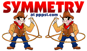 Lines Of Symmetry Powerpoint Free Powerpoint Presentations About Symmetry For Kids Teachers K 12