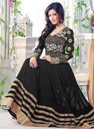 Black Frock Design 2018 Latest Pakistani Party Dresses And Frock Designs 2018