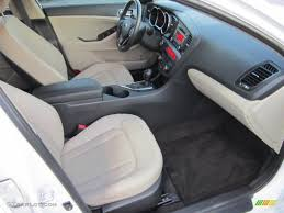Beige Interior 2011 Kia Optima EX Turbo Photo #73412602 | GTCarLot.com