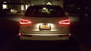 Audi Q5 Rear Lights Audi Q5 Upgraded Tail Lights Album On Imgur