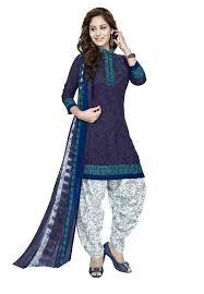 Amazon Punjabi Suits Design Raghavjee Sarees Womens Printed Unstitched Patiala Crepe Dress Material Salwar Kameez Kurta Punjabi Suit