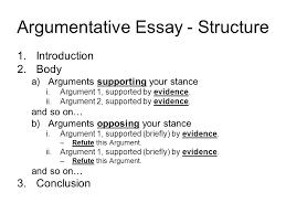 introduction paragraph in argumentative essay sample argument essays