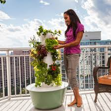 hydroponic garden tower. Modren Hydroponic Get NutrientLoaded Produce Without Loads Of Work With Hydroponic Garden Tower O