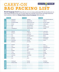 Vacation Packing Checklist Pdf Checklist For Traveling Abroad Myvacationplan Org