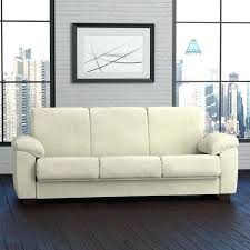 handy living wrangler convert a couch cream pebbles futon sleeper sofa colored leather