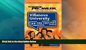 Price Villanova University: Off the Record - College Prowler (College  Prowler: Villanova - video Dailymotion