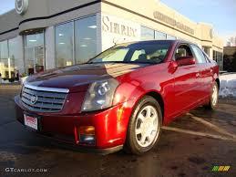 2003 Garnet Red Cadillac CTS Sedan #26307363 | GTCarLot.com - Car ...