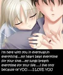 Anime Love Quotes Adorable Anime Love Quote Quote Number 48 Picture Quotes
