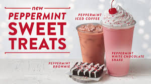 jack in the box serves new peppermint sweet treats for the 2017 holiday season