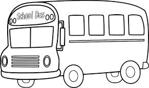 Dessin A Imprimer Bus Scolairel