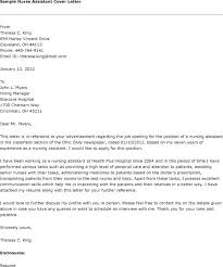 General Nursing Cover Letter Resume Letter Directory