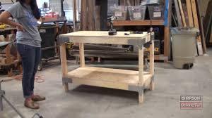 Garage Workbench Design Ideas Wood Workbench Kits Pdf Diy Wooden Workbenches Sale