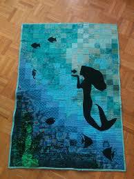 Mermaid Quilt Pattern Magnificent Design Ideas