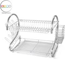 3 advantages of having dish drying rack. Inicio: 2 Layer Stainless Steel Dish Drainer Rack 3 Advantages Of Having Drying