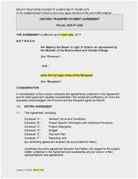 Payment Agreement Form Sample Interesting Example Of Payment Agreement Great Agreement Between Two Parties For