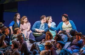 first look at alfie boe and katherine jenkins in carousel at the first look at alfie boe and katherine jenkins in carousel at the london coliseum 0 of 15
