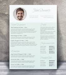 free resume template design 21 stunning creative resume templates