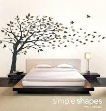 wall art tree large size decal bedroom adult home decoration king queen bed furniture blowing wind on metal wall art tree blowing wind with wall art tree large size decal bedroom adult home decoration king