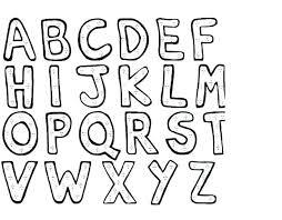 Alphabet Coloring Pages Pdf Preschool Printable Kondratovichme