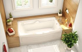 deep bathtubs standard size impressive tub soaking ideas