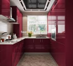 Chipboard Kitchen Cabinets Red Kitchen Cabinet Red Kitchen Cabinet Suppliers And