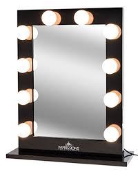 impressions vanity hollywood studio lighted make up vanity back se mirror review